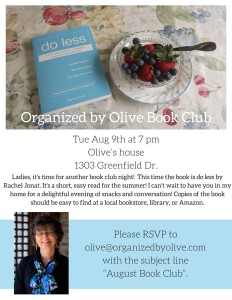 Organized by Olive Book Clubflyeredit